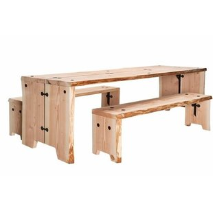 Forestry Table 180 cm + 2 x Bench showroommodel