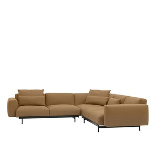 In Situ corner sofa's configuration 1