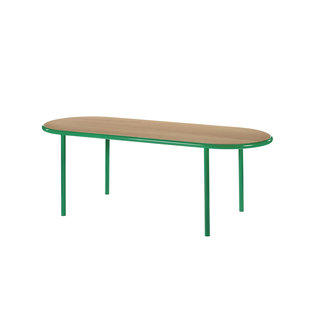 Wooden Table oval 210 x 80 cm