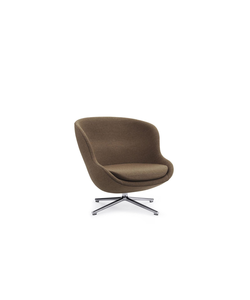 Hyg Lounge Chair Low Swivel Alu