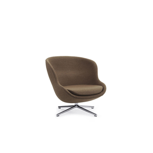 Hyg Lounge Chair Low Swivel Alu