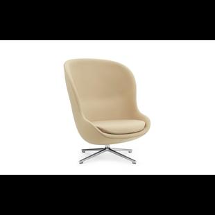Hyg Lounge Chair High Swivel Alu