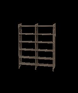 Shelving System voorbeeld boekenkast