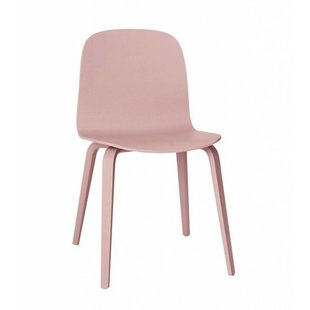 Visu Chair wood Tan Rose showroommodel