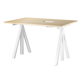 Works Height-adjustable work desk 120 x 78 cm