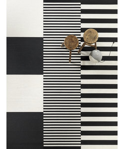 Paper Yarn Carpet sewn edges
