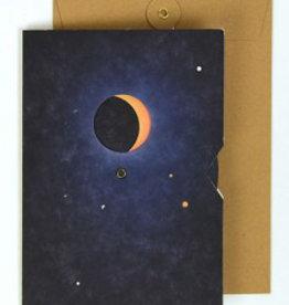 Papier Tigre A5 Greeting Card _ Moon