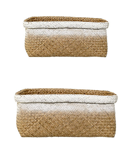 Bloomingville Basket, Nature, Seagrass L42xH19xW30 cm