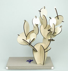 Papier Tigre Wooden cactus _ Prickly Pear