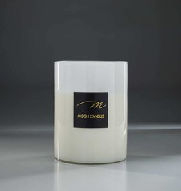 Moon Moon candle large 20x28 cm _ wit