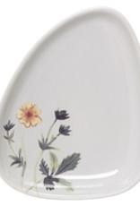 Bloomingville Flora plat, Multi color Stoneware Beige