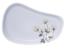 Bloomingville Flora plat, Multi color Stoneware Licht Paars