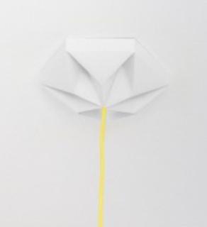 Studio Snowpuppe Kroonuppe plafondkapje wit
