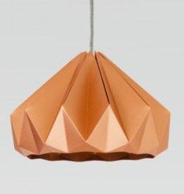 Studio Snowpuppe Chestnut gevouwen papier origami lamp koper
