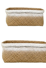 Bloomingville Basket, Nature, Seagrass L32xH19xW25