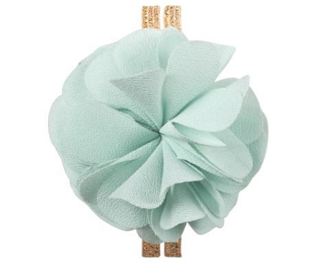 Maileg Haar elastiek Bloem, Mint