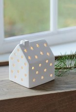 Sirius Janet house smal, wit, hoogte 10 cm_nieuwe collectie (incl.batterij1xCR2032)