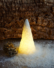 Sirius Snow cone, wit, hoogte 15 cm
