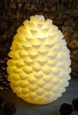 Sirius Clara cone, wit, 18 cm_nieuwe collectie (batterij 2xAA)