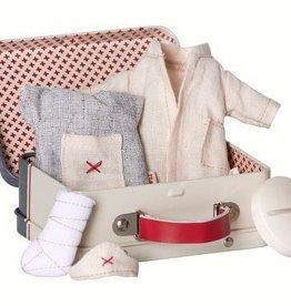 Maileg Micro,verpleegster&dokter koffer,incl 2 set