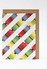 Papier Tigre A6 Greeting card _ Bravo