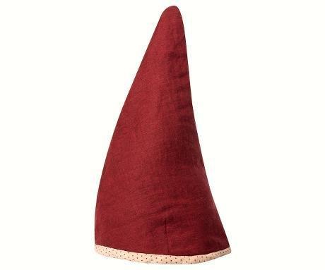 Maileg Pixy hoed, rood, large, 56-58 cm