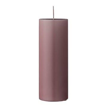 Kaars _ purper _ parafin _ Ø7*H20 cm