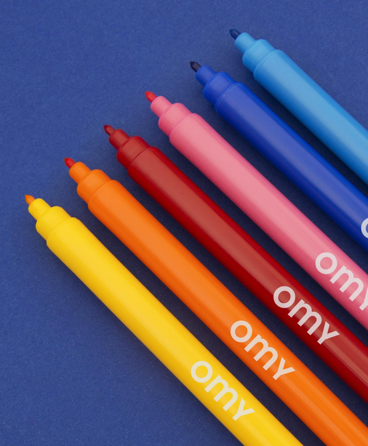Omy Viltstiften Ultra uitwisbaar