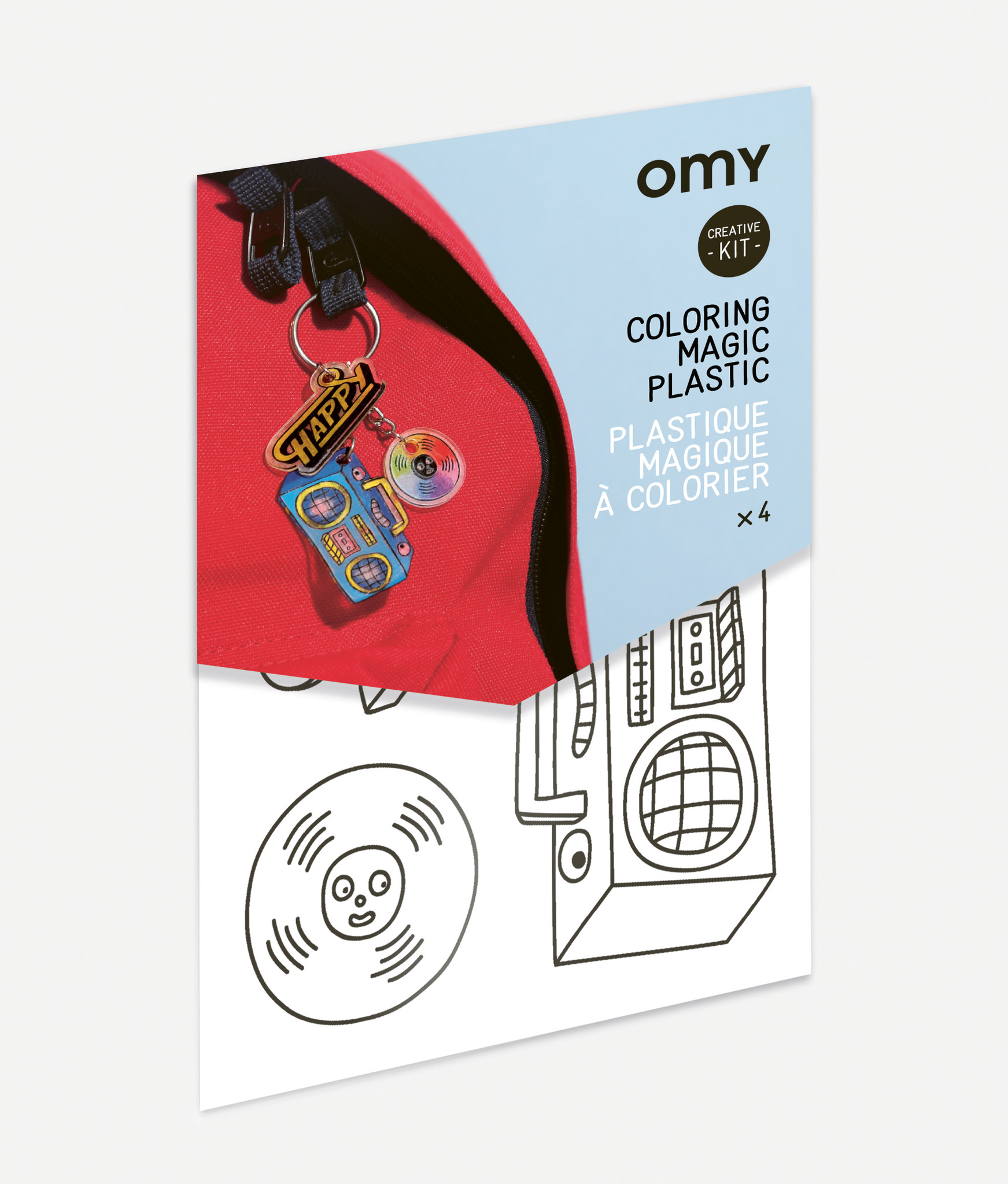 Omy Mini kit _ MAGIC PLASTIC _ muziek