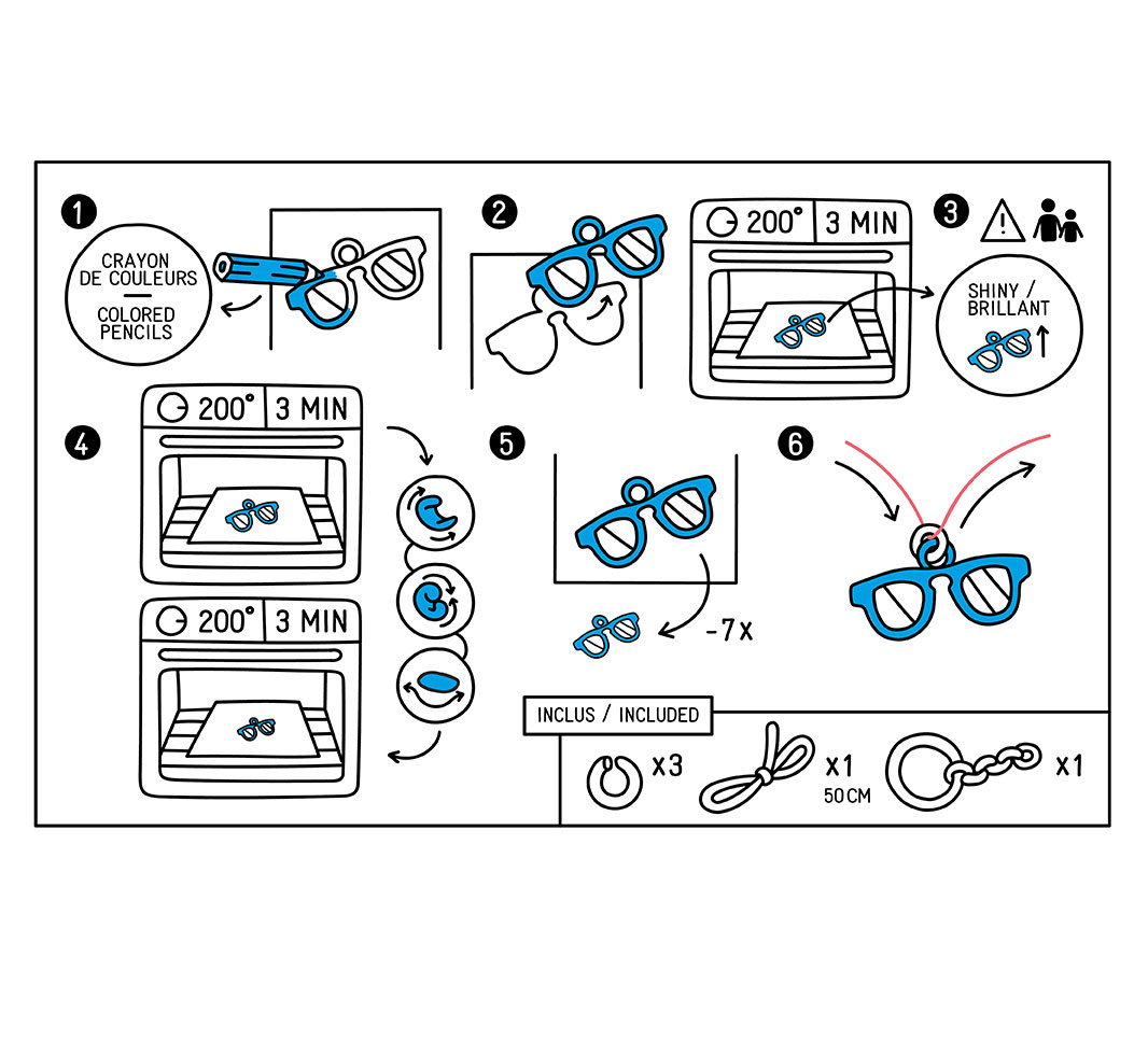 Omy Mini kit _ MAGIC PLASTIC _ muziek