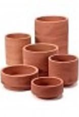 Serax Pot cilinder rood D15 _ H6,5