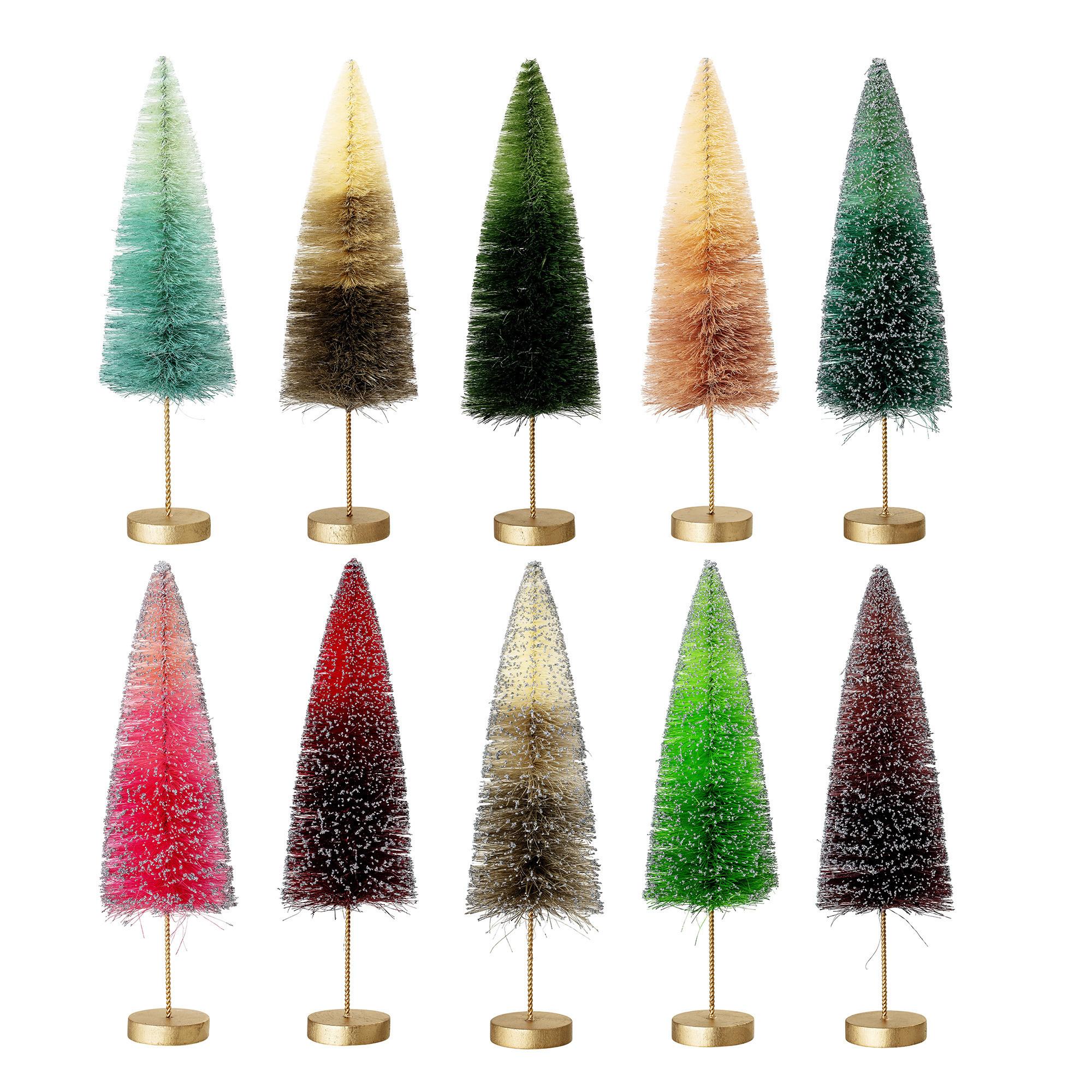 Bloomingville Kerstboom _ meerkleurig _ Sisal_Ø6,5 x H18cm