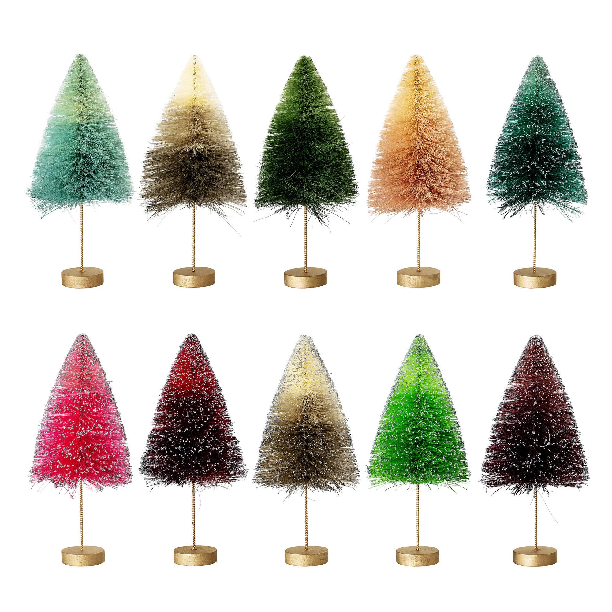 Bloomingville Kerstboom _ meerkleurig _ Sisal_Ø13x H28cm