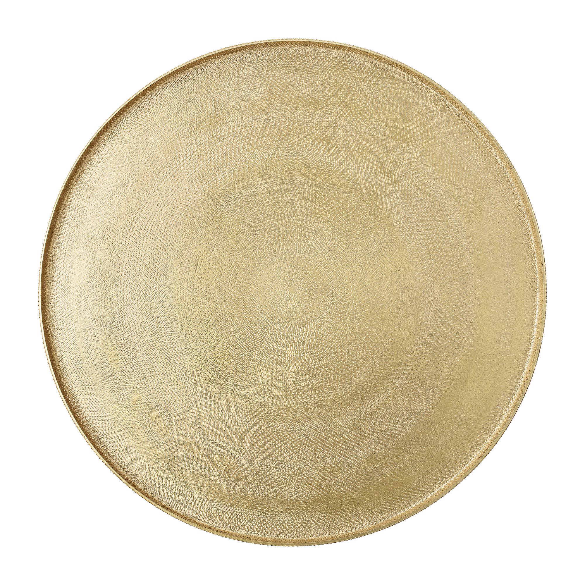 Bloomingville Dienblad_goudkleur_Ø30 x H1 cm