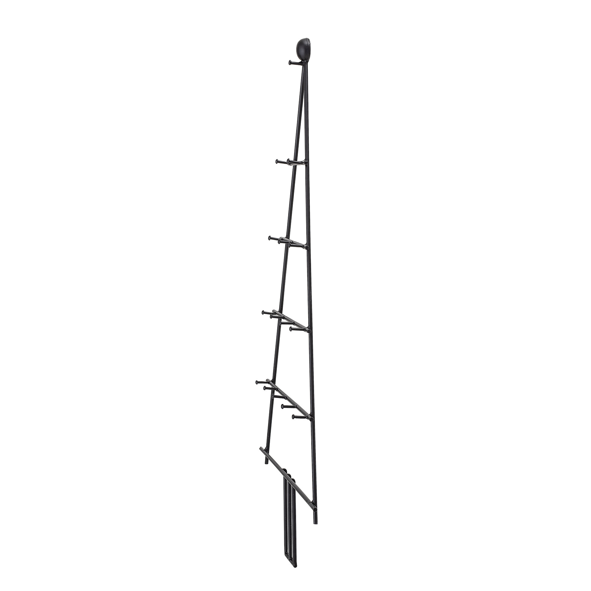 Bloomingville wand deco_zwart_metaal_H67 x W37 cm