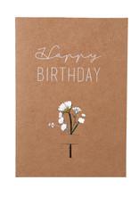 Räder Bloemenkaart _ HAPPY BIRTHDAY