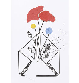 Räder Bloemenkaart _ Kleurrijk boeket
