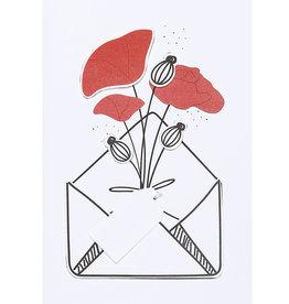 Räder Bloemenkaart _ POPPY