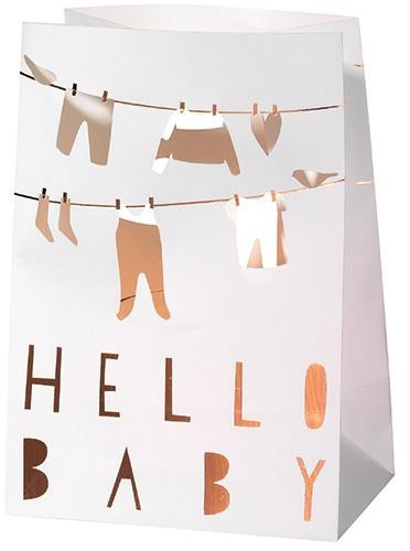 Räder Geboortekaartje / licht zak