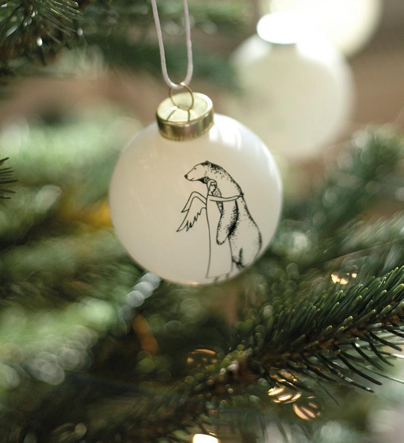 Räder Kerstbal _ knuffelbeer