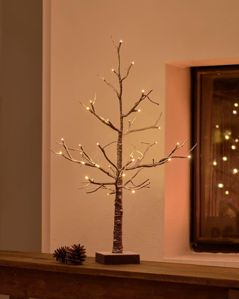Sirius Kerstboom met lichtketting H = 53cm