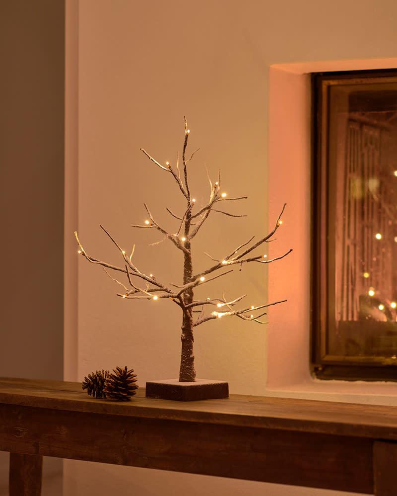 Sirius Kerstboom met lichtketting H = 40cm