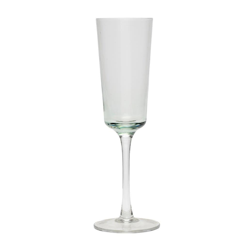 Hübsch Champagne glas _ helder _  Ø6*H21 cm