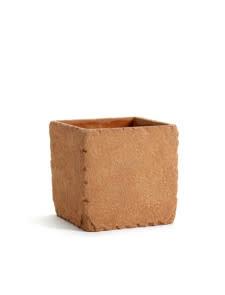 Serax Pot vierkant XL L15*B15*H15 cm rood