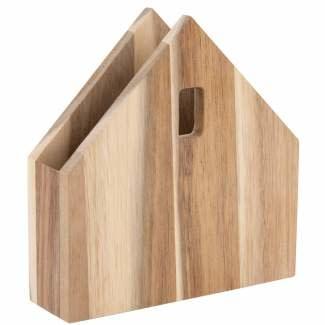 Servettenhouder huis 16*15,5*4 cm
