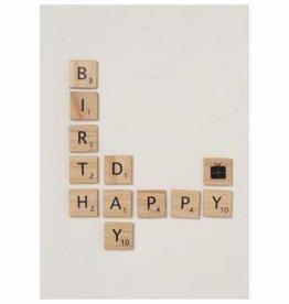 Räder Kaart houten letters _ Happy Birthday