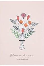 Bloemenkaart _ Flowers for you