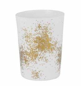 Theelicht gold dust large _ Ø 9cm / H 12cm