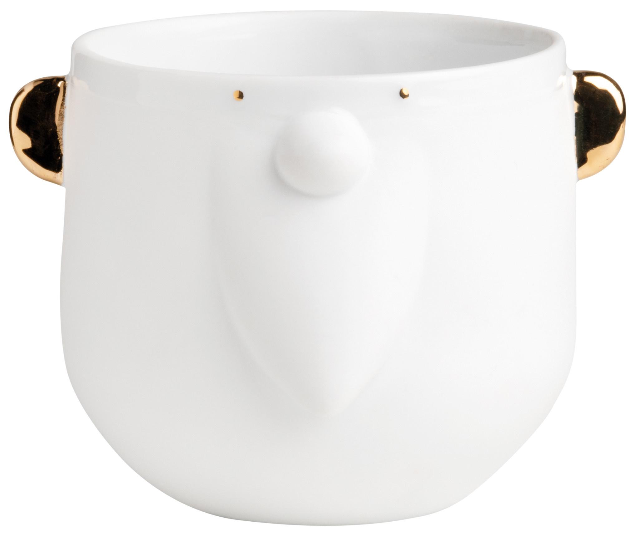 Räder Porseleinen beker/pot Santa D 9.5 cm / H 8.5 cm
