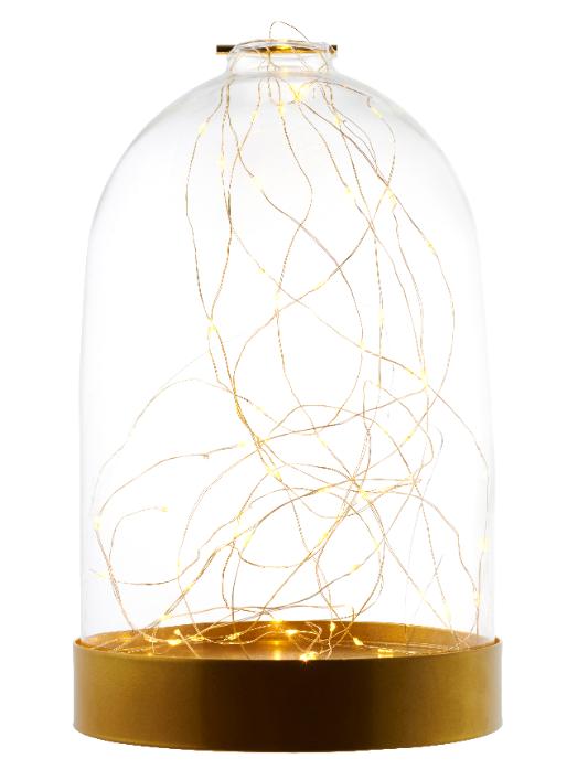 Bianca Dome Gold 80L H34cm